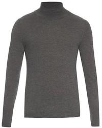 Acne Studios Joakim Roll Neck Wool Sweater