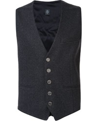 Eleventy Fitted Waistcoat