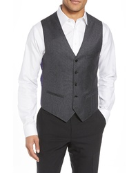 Ted Baker London Fit Solid Wool Vest