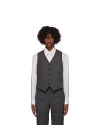 Lemaire Grey Wool Vest