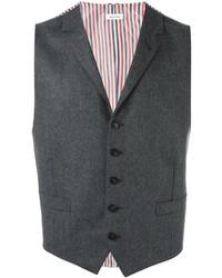 Thom Browne Notched Lapel Waistcoat