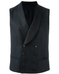 Z Zegna Double Breasted Waistcoat