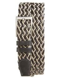 Woven leather belt medium 3768200