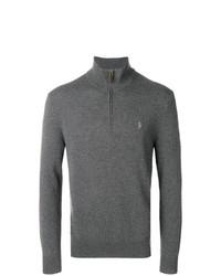 Polo Ralph Lauren Half Zip Logo Sweater