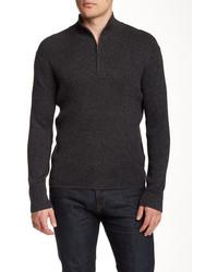 DKNY Jeans Ribbed Half Zip Sweater