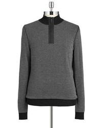 Hugo Boss Quarter Zip Knit Sweater