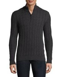 Salvatore Ferragamo Ribbed Cashmere Sweater
