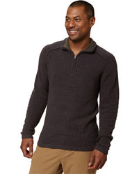 Royal Robbins Voyager 14 Zip Charcoal Pullovers