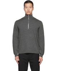Theory Wool Quarter Zip Arnaud Sweater