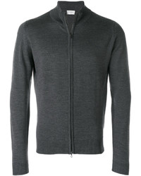 Charcoal Zip Sweater