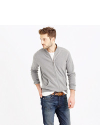 J.Crew Cotton Cashmere Zip Sweater Jacket | Where to buy & how to wear