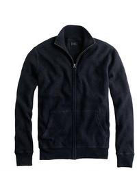 Cotton cashmere zip sweater jacket medium 335982