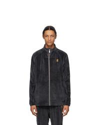 Nike Grey Velour Tennis Jacket