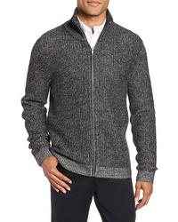 Calibrate Rib Knit Zip Sweater