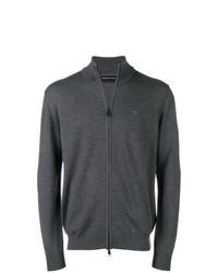Emporio Armani Zip Front Sweater