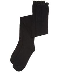Chaussettes montantes noires Free People