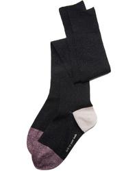 Chaussettes montantes noires Kate Spade