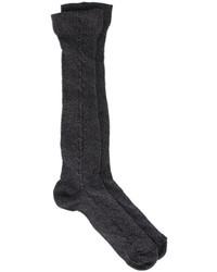 Chaussettes noires Golden Goose Deluxe Brand