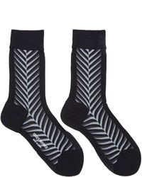 Chaussettes noires Issey Miyake