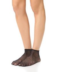 Chaussettes résille noires Wolford