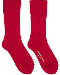 Chaussettes rouges Comme des Garcons
