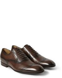 Chaussures brogues brunes foncees original 6731883