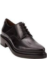 Chaussures richelieu en cuir épaisses noires