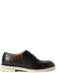 Chaussures richelieu en cuir noires Maison Margiela
