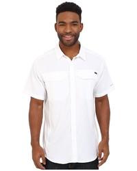 Chemise à manches courtes blanche Columbia