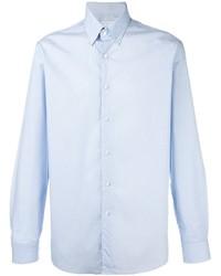 Chemise à manches longues bleue claire Etro