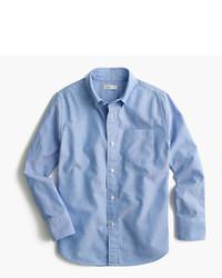 Chemise à manches longues bleue claire J.Crew