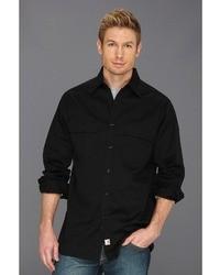 Chemise à manches longues noire Carhartt