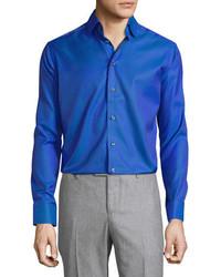 Chemise à manches longues violette Eton