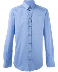 Chemise de ville bleue claire Dolce & Gabbana
