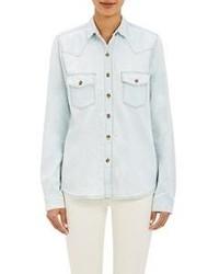 Chemise en jean bleue claire J Brand