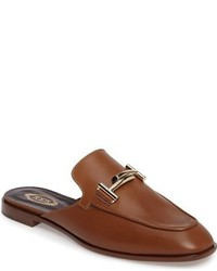 Chinelas marrónes de Tod's