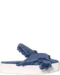 Chinelas Сon Flecos Azules de N°21