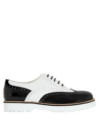 Chunky Leather Oxford Shoes