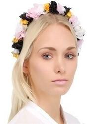 Cinta para la cabeza con print de flores en multicolor