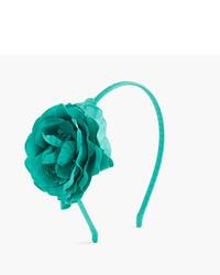 Cinta para la cabeza verde de J.Crew