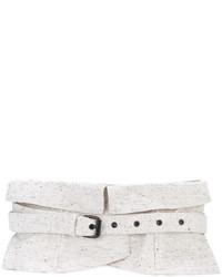 Cinturón blanco de Isabel Marant
