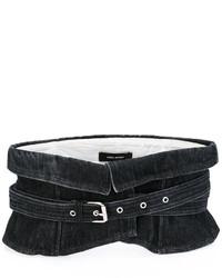 Cinturón negro de Isabel Marant