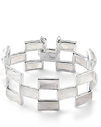 Ippolita 925 Rock Candy Mosaic Bracelet In Clear Quartzmother Of Pearl