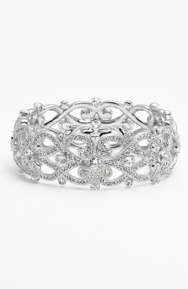 Nadri Celtic Knot Crystal Bangle