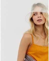 My Accessories London Clear Bucket Hat