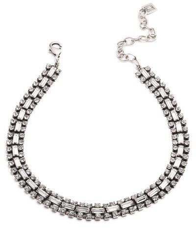 Dannijo Jihan Crystal Choker Necklace