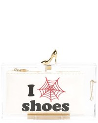Charlotte olympia pandora loves shoes clutch medium 258934