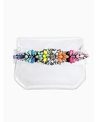Choies Small Transparent Clutch Bag