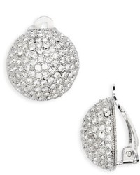 Clip crystal earrings medium 6458417