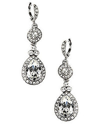 Givenchy Crystal Drop Statet Earrings